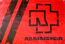 "RAMMSTEIN FLAGGE / FAHNE ""LOGO ROT"" - POSTERFLAG"