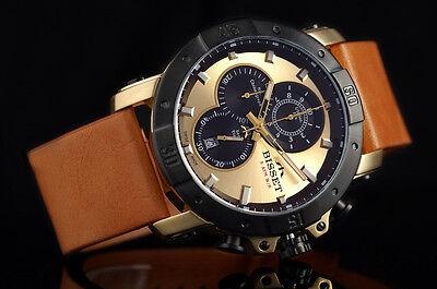 Armbanduhren Herzhaft Bisset Bscd91 Argentum Chronograph All Stainless Steel Herrenuhr Swiss Made Uhren & Schmuck