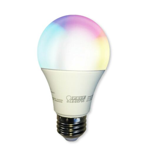Smart LED Light Bulb Dimmable Color Changing Tunable White WiFi FEIT LED A800