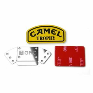 Metall-Camel-Trophy-Logo-Aufkleber-Fuer-1-10-Traxxas-TRX4-Fuer-Land-Rover-Defender