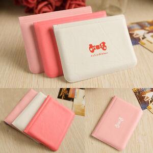 AU-KQ-Women-039-s-Bowknot-ID-Credit-Card-Holder-Storage-Pocket-Bag-Wallet-Case-Nov