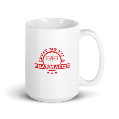 Trust Me I/'m A Pharmacist College Gifts With Funny Details about  /Funny Pharmacist Coffee Mug