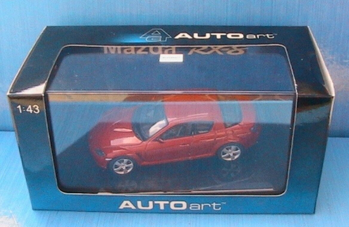 MAZDA RX-8 COUPE 2003 VELOCITY rouge AUTOART 55922 1 43 rouge rouge ROUGE RX8 RX 8