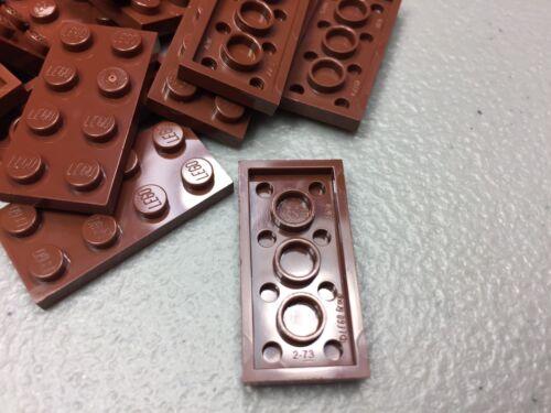 NEW LEGO 2x4 Plates Reddish Brown LOT OF 25 3020