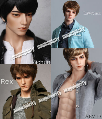 BJD SD fid 49.5cm body free eyes  faceup (head sculp of your choise )
