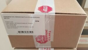 144 Battle Styles Booster Packs Sleeved SEALED CASE BOX Pokemon Sword & Shield