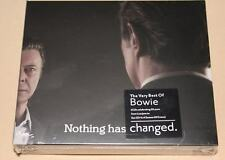 The Very Best of David Bowie Nothing Has Changed 3 CD Set