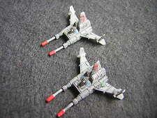 Battletech / Aerotech Ral Partha Sparrowhawk SPR-H5 Fighters x2 - Metal (1)