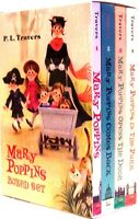 Mary Poppins,comes Back,opens The Door & In The Park (pb) 4 Bk Box Set