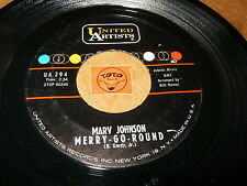 MARV JOHNSON - MERRY GO ROUND - TELL ME THAT YOU - LISTEN - SOUL RNB POPCORN