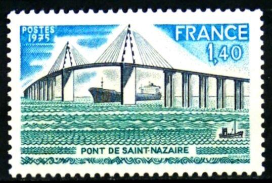 France 1975 Yvert n° 1856 neuf ** 1er choix