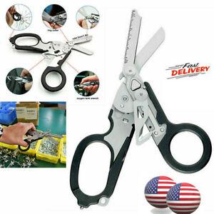 Multi Folding Pliers Shears-Outdoor Raptor Emergency Shears 6 Functions Scissor*