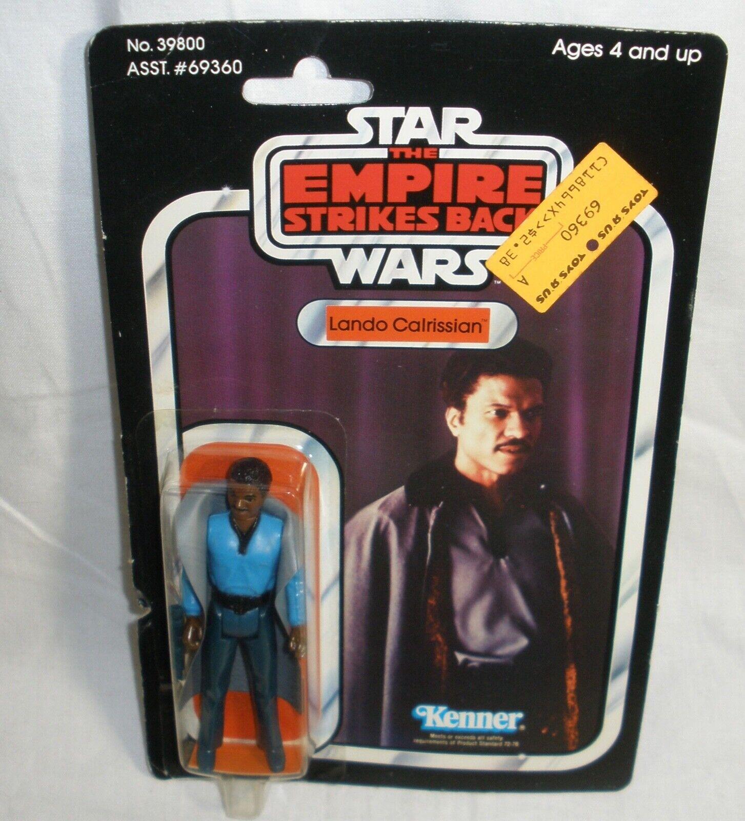 Estrella Wars Imperio Contraataca Lando Calrissian Figura De Acción Nueva en la tarjeta