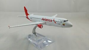 16cm A320 Airbus Avianca Airline Columbia Aeroplane Aircraft Airplane Plane Toys