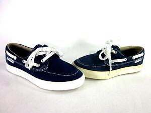 9a027af2c0ec8f CONVERSE SEA STAR OX BOAT SNEAKER NAVY WHITE CANVAS US SIZE MEN S 5 ...
