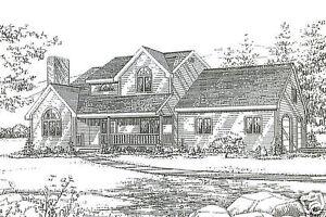 3 Bdrm 2 Bath 1780 SF Hip Roof Ranch 2 Car Garage Under House Building Plans