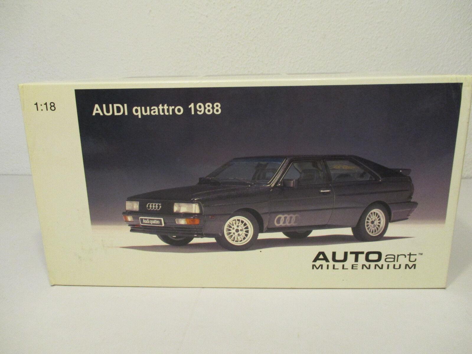 Gol   1:18 Autoart Audi Quattro 1988 Nuovo Conf. Orig.