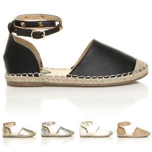 Femme Femmes Dᄄᆭcoupe Cheville Noir cloutᄄᆭe ᄄᄂ Talon Plat  tᄄᆭ Chaussures Pointure-afficher le titre d'origine