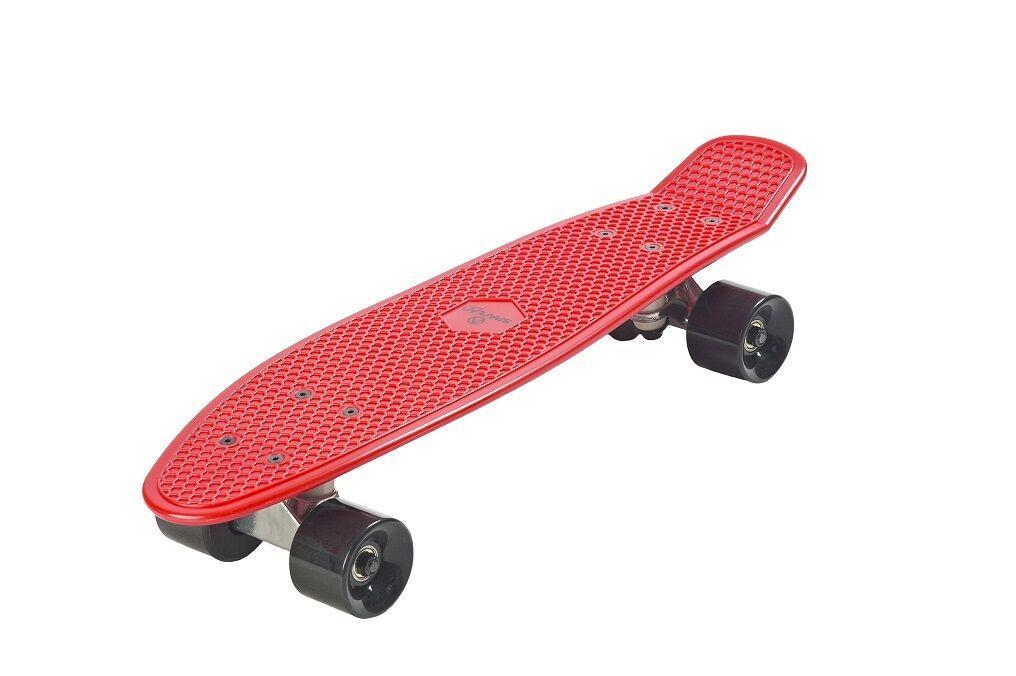 Spartan- Oldschook Skateboard aus Kunststoff. Großer Fahrspaß garantiert  | Elegantes und robustes Menü