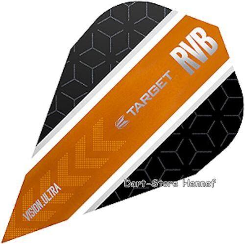 "6 Dart Flights /""Raymond van Barneveld/"" RvB Curve Vapor 332070"