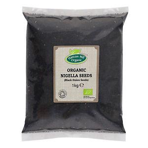 Organic Nigella Sativa Seeds (Black Seeds, Black Cumin Seed)