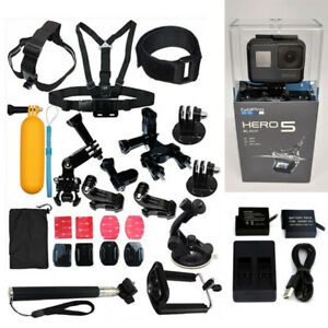 GoPro-HERO5-Black-HD-4K-Action-Camera-CHDHX-502-23PCS-ACCESSORIES-2BT-amp-CH
