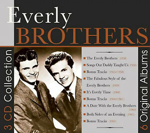The-Everly-Brothers-6-Original-Albums-CD-Box-Set-3-discs-2015-NEW