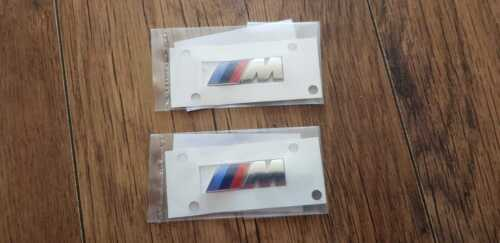OEM BMW 1 2 3 4 5 6 7 X SERIES M BADGE EMBLEM FOR FRONT WING