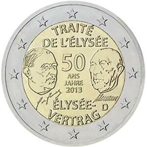 Allemagne 2013 Traité De L'Elysée Monnaie: G