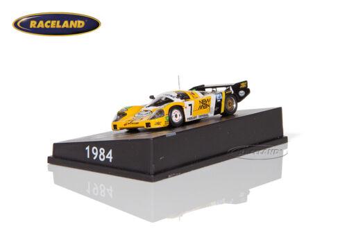 Spark 1:87 h0 Porsche 956b Joest New Man vencedores le mans 1984 Ludwig//pescarolo