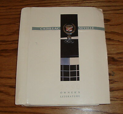 1990 cadillac seville owners manual