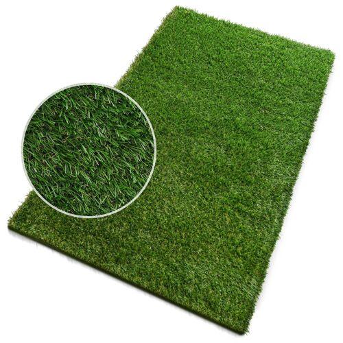 Premium Artificial Grass 1M x 2M Green High Density Lawn Turf Garden Easy Fit