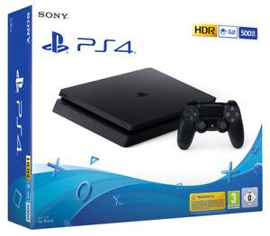PLAYSTATION 4 PS4 500GB F Chasis Negro Consola Sony Computadora Entertainment
