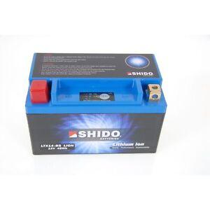 2005 Shido Lithium LTX14-BS Batterie Aprilia ETV1000 Caponord PS Bj YTX14-BS