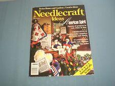 1988 Better Homes & Garden's Needlecraft Ideas Crochet Knit Afghan Sweaters