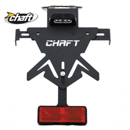 Support de plaque CHAFT TRIUMPH Street Triple Daytona moto epoxy led homologué