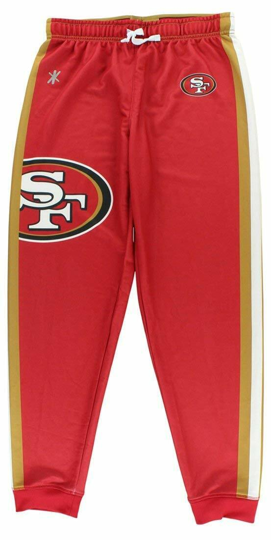 Forever Collectibles NFL Women's San Francisco 49ers Polyfleece Jogger Pant