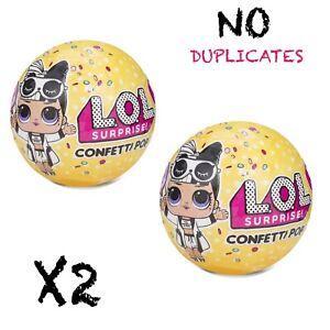 LOL-Surprise-Confetti-Pop-Series-3-Wave-2-L-O-L-Surprise-Tots-Ball-AUTH-MGA