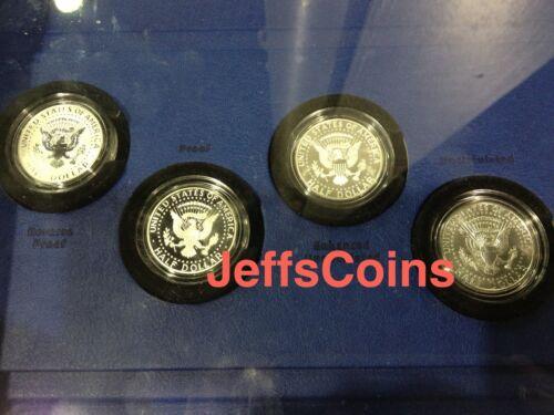 50th Anniversary Kennedy 2014 P D S W Half Dollar 90/% Silver 4 Coin Set K13