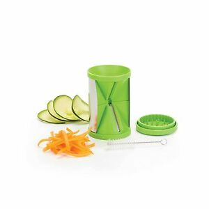 Kitchen-Craft-2-en-1-Espiral-Cortador-Espiralizador-juliana-Cortar-Fruta
