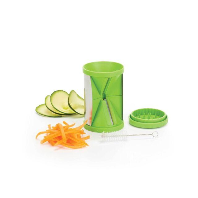 Kitchen Craft 2 en 1 Espiral Cortador / Espiralizador juliana / Cortar Fruta/