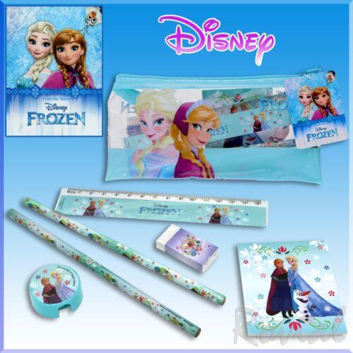 Etui Kinder Schulzubehör Set Disney Frozen 7tlg Schreibset Elsa/&Anna Schulset
