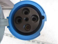 Leviton 4100R9W 100A 3P 250V 3Ø Watertight Pin & Sleeve  Receptacle, New