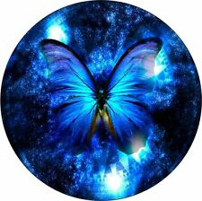 ELEGANT BLUE BUTTERFLY, CAR TAX DISC PERMIT HOLDER O OPERATORS LICENSE
