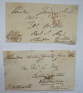 Pair-of-British-Parliamentary-Free-Franks-1820-amp-1822