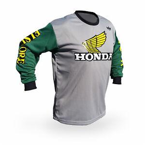 Vintage Style Maico Motocross Jersey MX Enduro AHRMA motorcycle