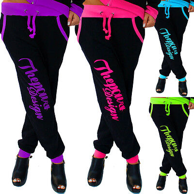 ZAHIDA Damen Jogginghose Sporthose Fitness Sport Schlafanzug Hose Trainingshose