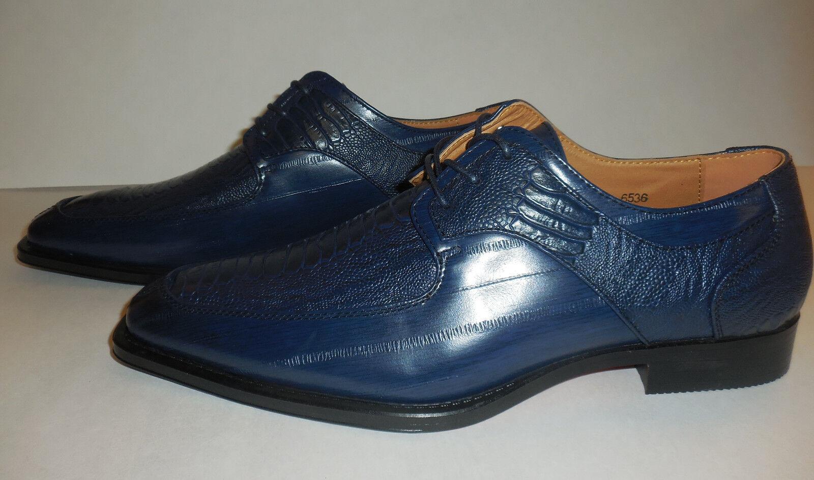 Para Hombre Nueva Edición Antonio De Cerrelli Oxford Zapatos De Antonio Vestir 6536 Azul Marino Moderno Toe a28231