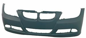 NEW BMW 3 E90 E91 2005-2009 FRONT BUMPER PRIMED WITH HEADLIGHT WASHER HOLES