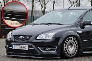 Spoilerschwert-Frontspoiler-ABS-Ford-Focus-ST-MK2-04-07-mit-ABE-schwarz-glaenzend